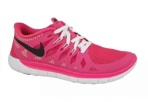 Nike Free 5.0 GS  Hot Pink White Trainers Womens girls sizes UK3 UK3.5 UK4 New